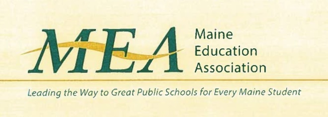 Maine Educational Association [Logo]