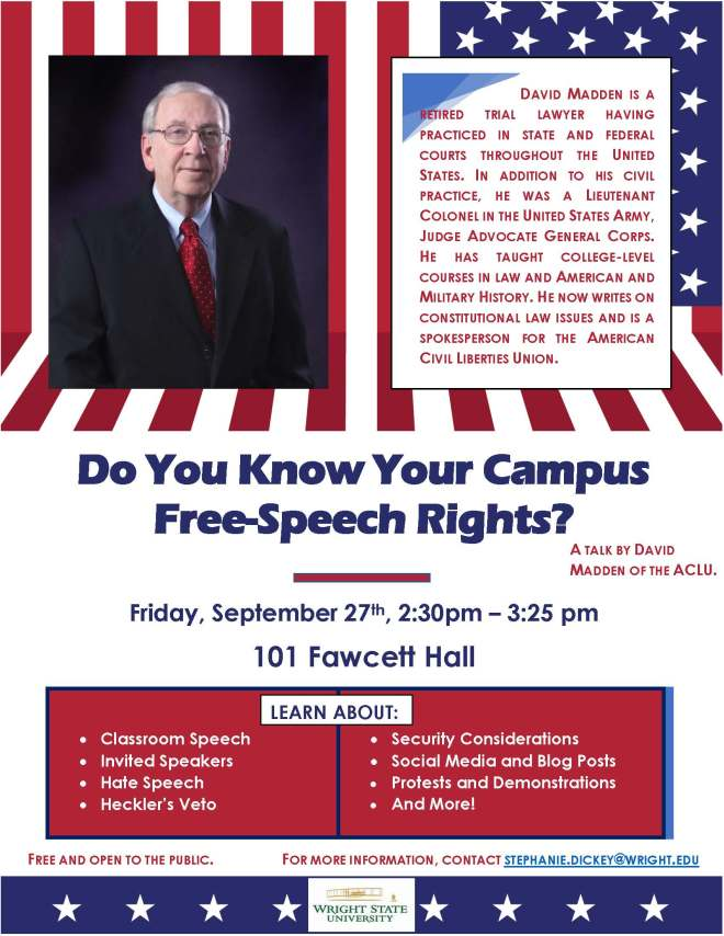 Free-Speech Presentation